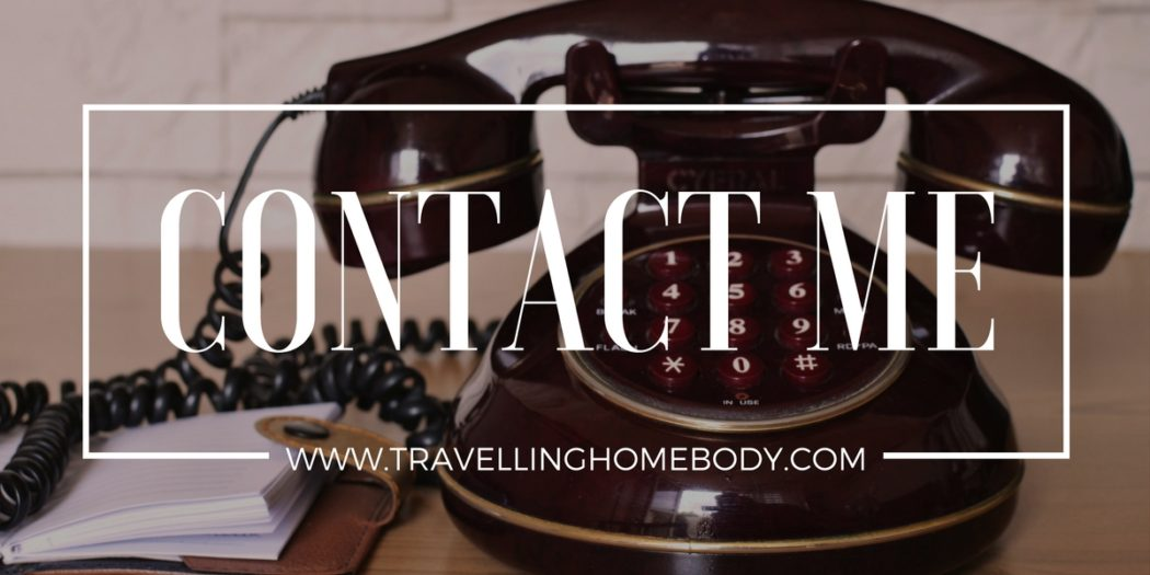 Contact Travelling Homebody with your questions, comments and, of course, your travel stories!