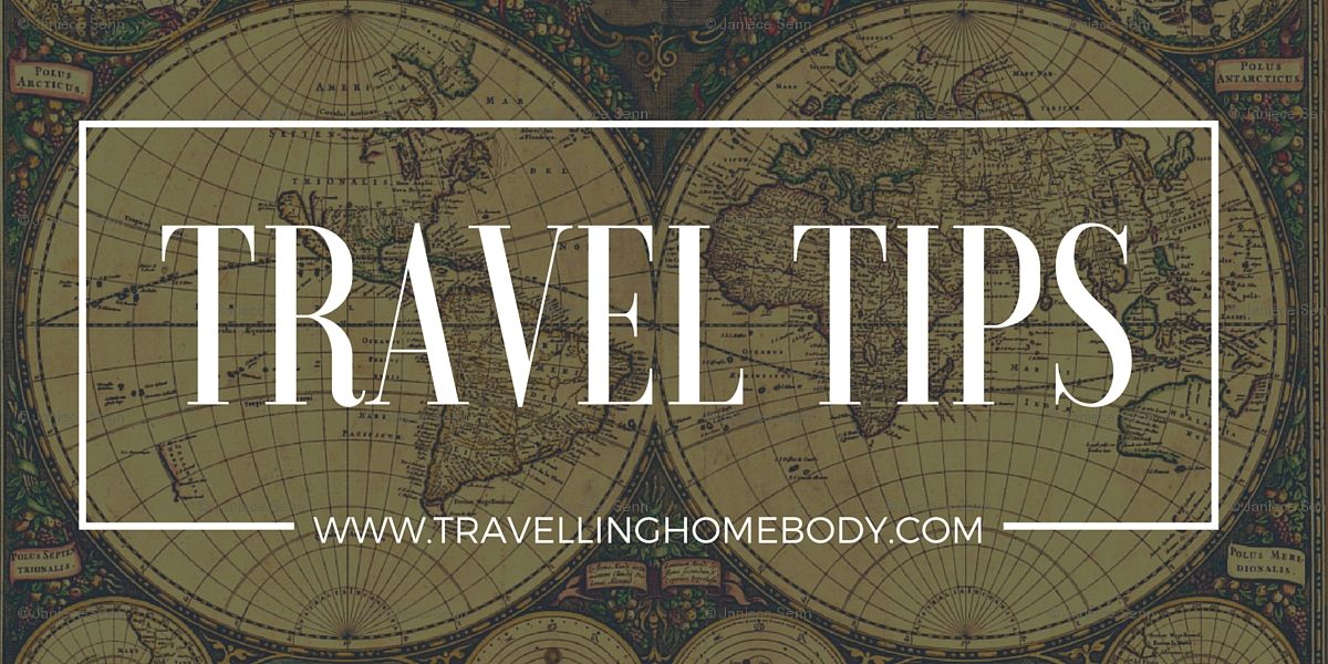 Another awesome travel tip from the Travelling Homebody.
