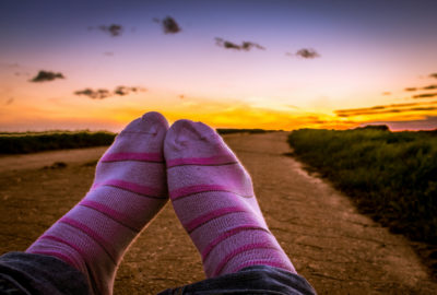 Another awesome travel tip from Travelling Homebody: socks rock!