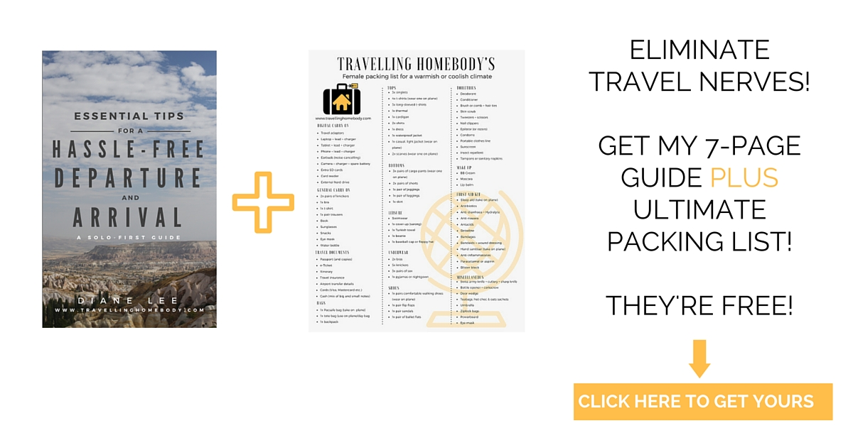 Get a travel guide and packing list free when you subscribe!