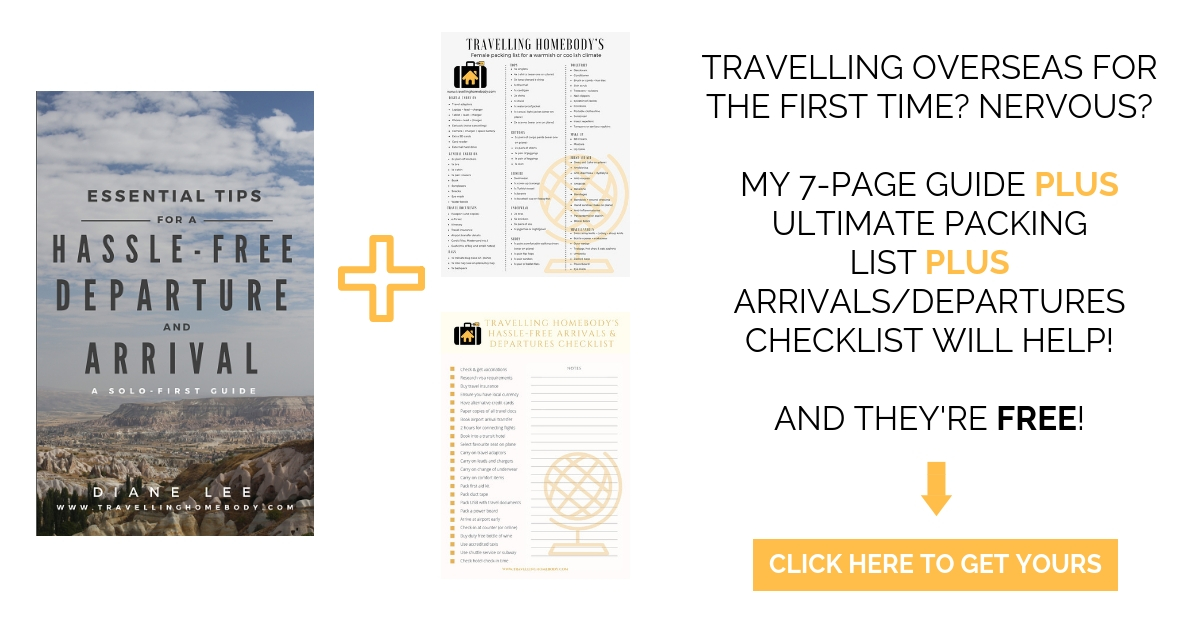 Travelling Homebody - free travel resources