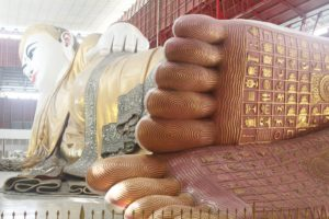Travelling Homebody - Your 24 hour guide to Yangon - Reclining Buddha