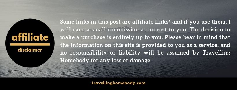 Travelling Homebody - Affiliate Disclaimer