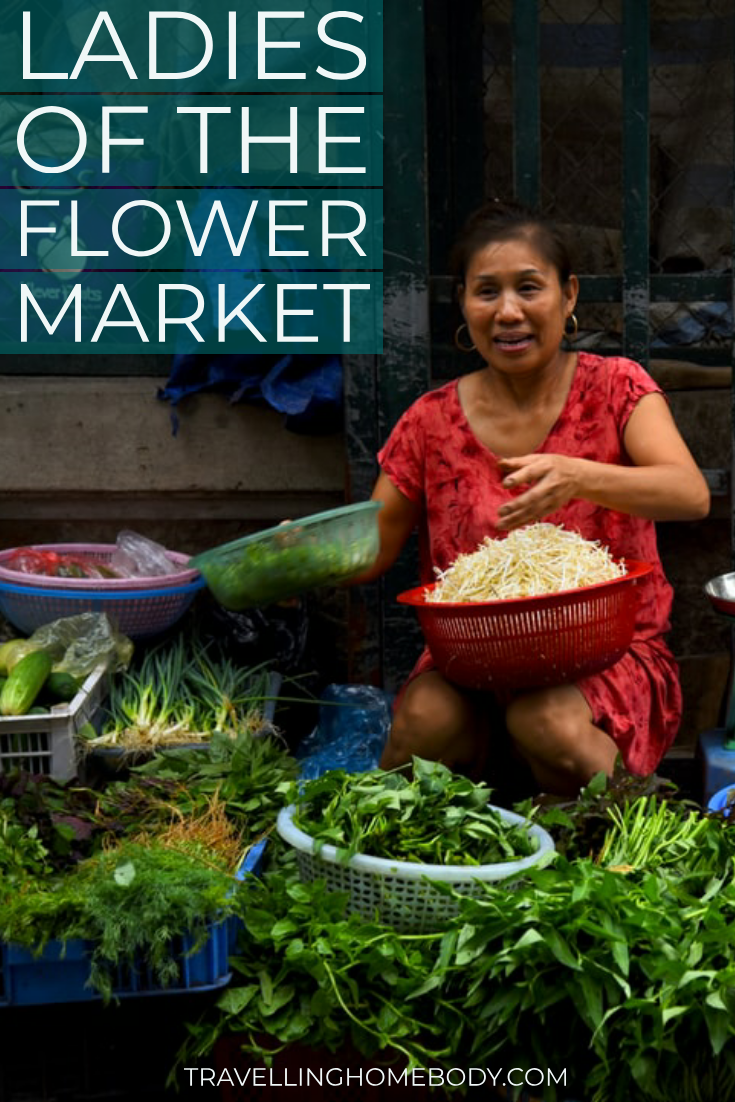 Ladies of the Flower Market Hanoi - Travelling Homebody