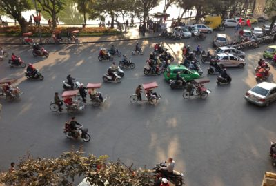Travelling Homebody - getting around Hanoi like a local